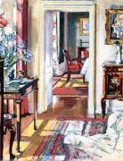 Interior, The Croft House art print
