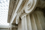 British Museum - Architectural Detail giclee art print