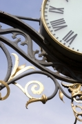 Clock And Ironwork giclee art print