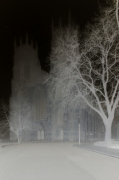 Ghostly Cathedral II giclee art print