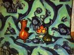 Still Life with Tablecloth art print