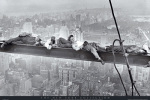 Men Asleep on a Girder 1932 art print
