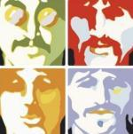 Beatles - Sea of science art print