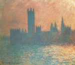 Houses Of Parliament, 1903 art print