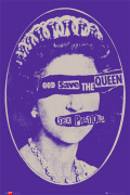 Sex Pistols - God save the queen art print