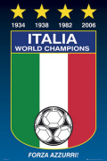 Italy - World Champions art print