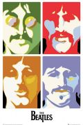 The Beatles - Sea of science art print