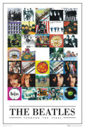 The Beatles - Through the years art print