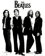 The Beatles - White art print