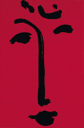 Facial-Maschera (red), 1951 (Silkscreen print) art print
