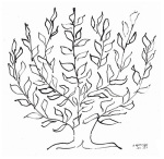 The Plain Tree, 1951 (Silkscreen print) art print