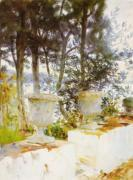 Corfu: The Terrace art print