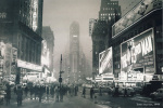 Times Square 1949 art print