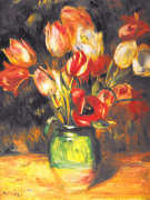Tulips In A Vase art print