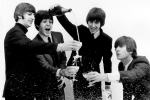 Beatles - Champagne art print