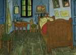 Van Gogh's Bedroom at Arles, 1889 art print