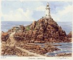 Jersey - Corbiere Lighthouse art print