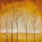 Five Trees art print