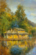 Lake House art print