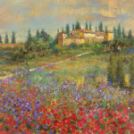Provencal Village XI art print