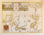 A Map of the North Pole and the Parts Adjoining 1680 art print