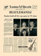 Beatlemania! art print