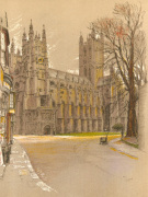Canterbury Cathedral art print