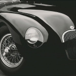 Jaguar C-Type art print