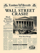 Wall Street Crash! art print