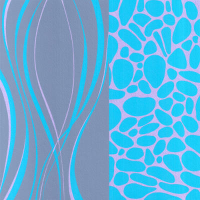Pebble Beach  (Silkscreen print)