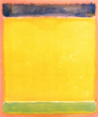 Untitled (Blue, Yellow, Green, Red)