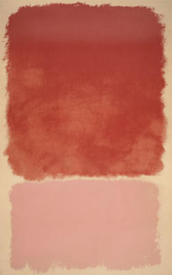 Untitled 1968 (Red,Pink) (Silkscreen print)
