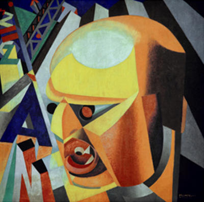 Portrait of Marinetti