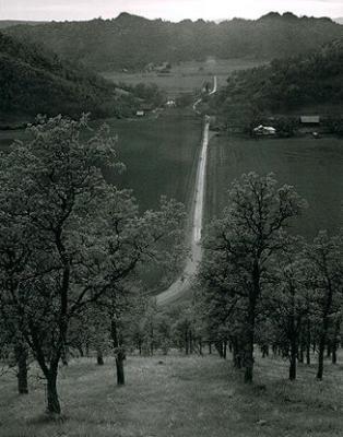 ansel adams photography road. by Ansel Adams middot; Road towards