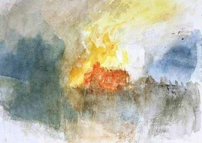 The Burning of the Houses of Parliament, 1834