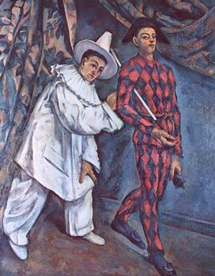 Pierrot and Harlequin, 1888