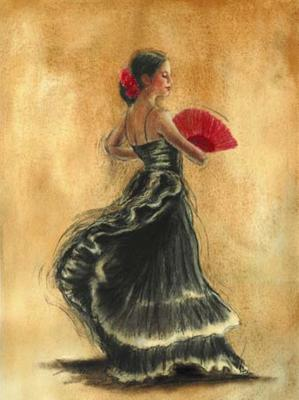 Flamenco Dancer II