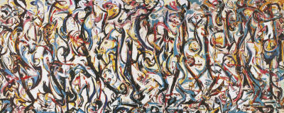 Mural 1943 print by jackson pollock for Mural 1943 by jackson pollock