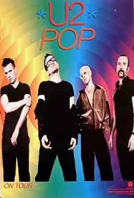 Celebrity   Paintings  Sale on U2   Pop By Celebrity Image Poster   Worldgallery Co Uk