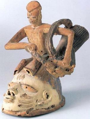 african art masks. Gelede Mask. by African Art