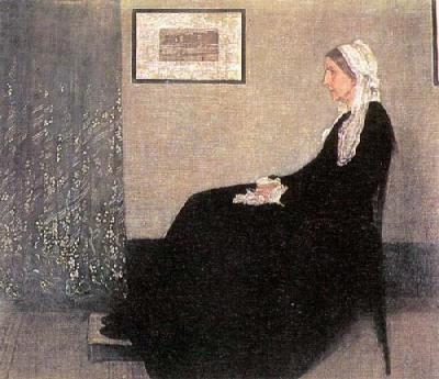 Portrait of the Artist&#39;s Mother, 1871
