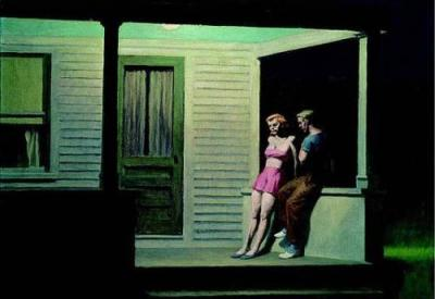 Summer Evening by Edward Hopper