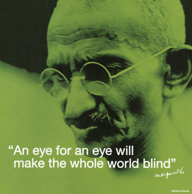 quotes about peace. gandhi quotes on peace.