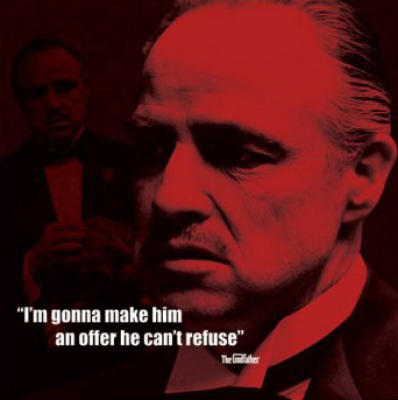 The Godfather (I.Quote) by Celebrity Image Art Print - WorldGallery.