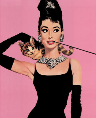 Audrey Hepburn (Pink)