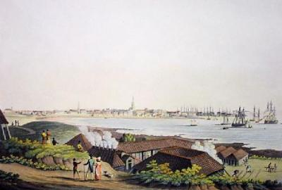 Peterhead, Town of (Restrike Etching)