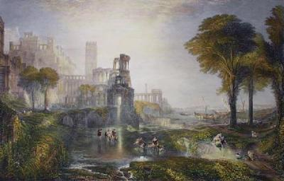 Caligula's Bridge (Restrike Etching)