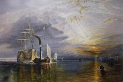 Fighting Temeraire (Restrike Etching)