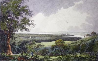 Vale of Severn from Standish (Restrike Etching)