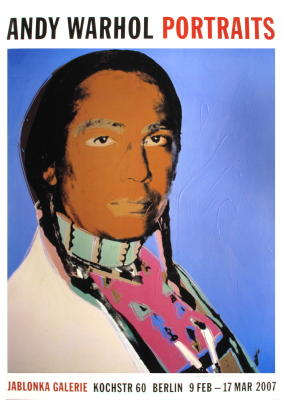 Portrait of Russell Means